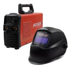 Soldadora Inverter Hessen Pro 160 Amp + Careta Fotosensible