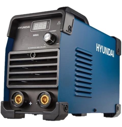 soldadora inverter hyundai 200 amp maquina de soldar digital