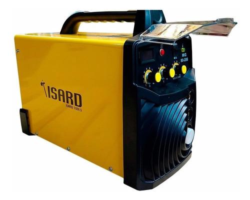 soldadora inverter isard mig/mma 200 amp - euroconector