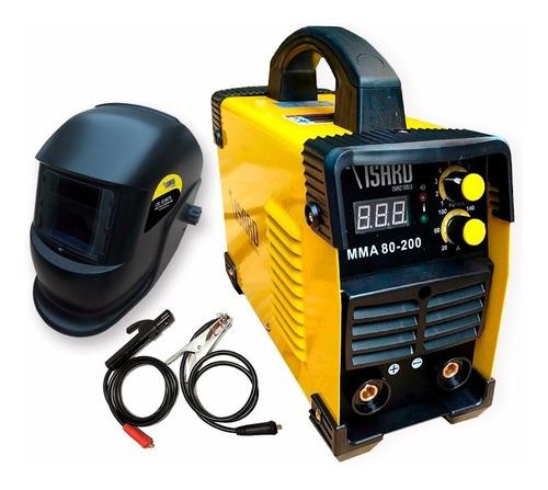 soldadora inverter isard mma 180 amps + mascara fotosensible