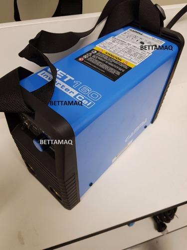 soldadora inverter jet 160 a gamma celulosico turbo tig