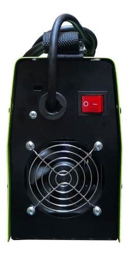 soldadora inverter klatter 140 amp + guantes pinzas correa