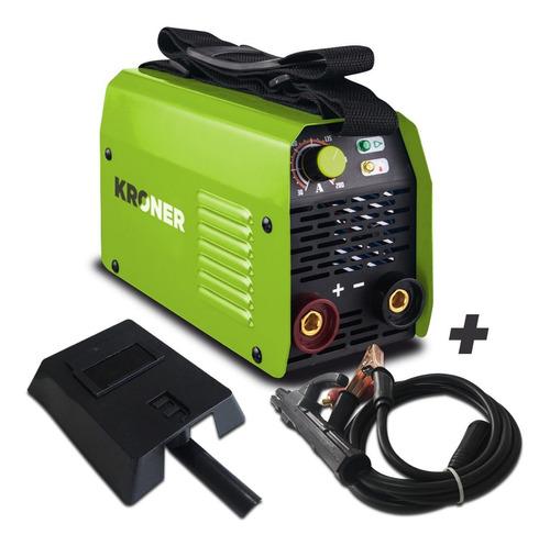 soldadora inverter kroner 100 amp-reales 220 volts premium
