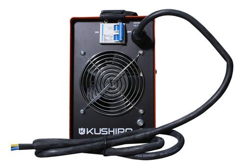 soldadora inverter kushiro 200a electrodo 4mm industrial
