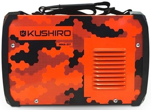 soldadora inverter kushiro 200a igbt sistema aut. easy weld