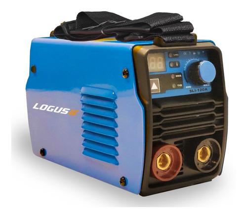 soldadora inverter logus sli-120am  2en1+mascara 6 cuotas
