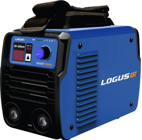 soldadora inverter logus  sli-200am + mascara - celulosica