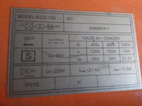 soldadora inverter lusqtoff eco-130