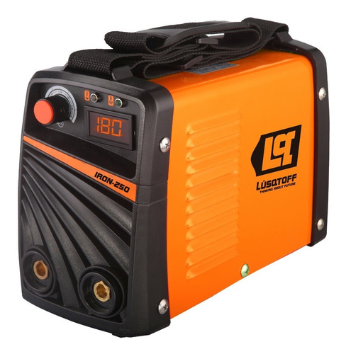 soldadora inverter lusqtoff iron 250 electrodo mma 180a