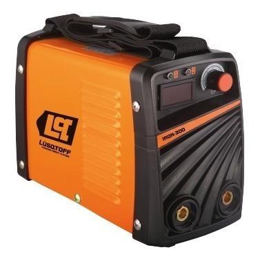 soldadora inverter lusqtoff iron 300 220v 50hz 7,5kw