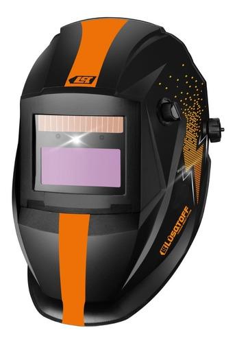 soldadora inverter lusqtoff iron250+ mascarast1x+ 1kg electr