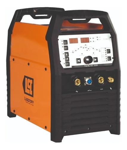 soldadora inverter lusqtoff tig ac/dc 200a aluminio mma 2en1