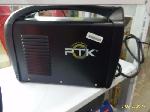 soldadora inverter ptk funcional 3 en 1 tig,plasma,electrodo