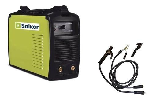 soldadora inverter salkor 200 amp ie 6200