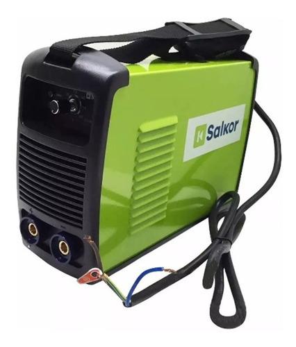soldadora inverter salkor 200amp + mascara fotosensible neo