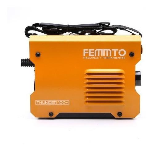 soldadora inverter thunder 100 + mascara fotosensible femmto