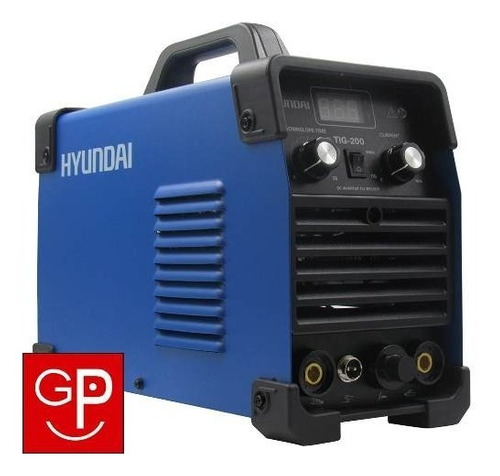 soldadora inverter tig hyundai 200amp + careta soldar g p