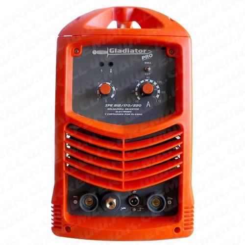 soldadora inverter y cortadora plasma hasta 18 mm ferremak