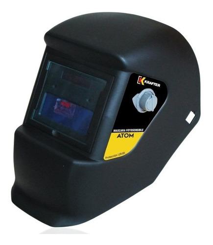 soldadora krafter dw100+mascara fotosensible+electr/puntomak
