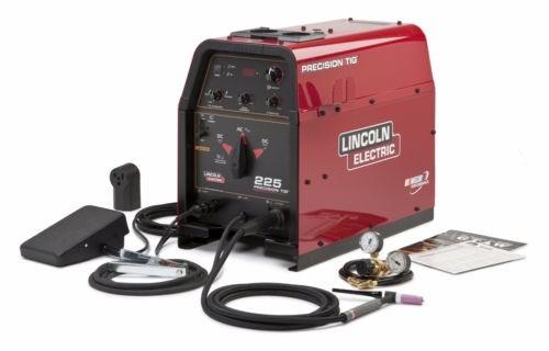 soldadora lincoln precision tig 225 welder ready pak k2535-1