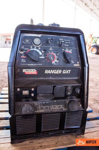 soldadora lincoln ranger gxt 250 2,200 horas gasolina