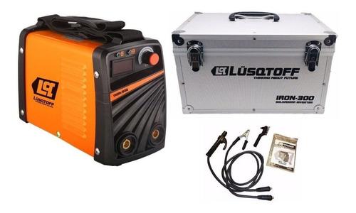 soldadora lusqtoff inverter iron 300 con maletin