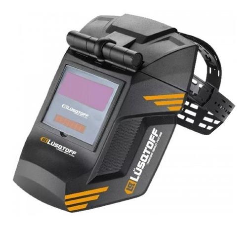 soldadora lusqtoff iron250 mascara + electrodos + escuadra