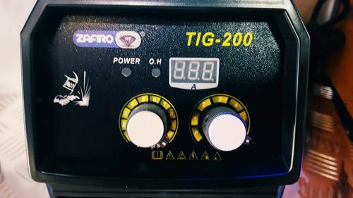 soldadora máquina de soldar soldadora tig inverter 200 hf