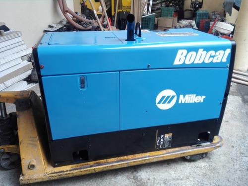 soldadora marca miller mod. bobcat 250 año 2011 excelente