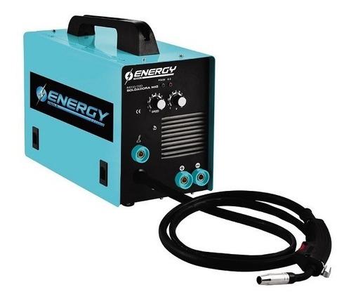 soldadora mig energy im200 con y sin gas 200a (envio gratis)