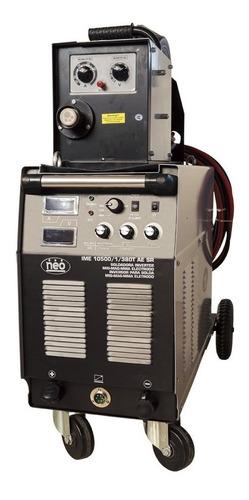 soldadora mig mag 500 amp 380 vol cabezal desmontable