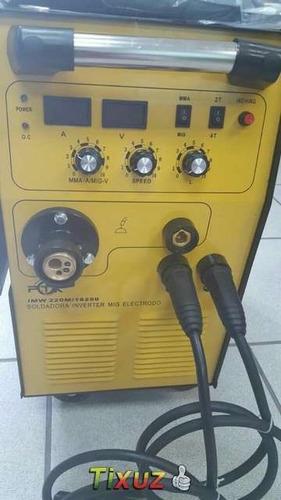soldadora mig/electrodo inverter ptk 250 amperios