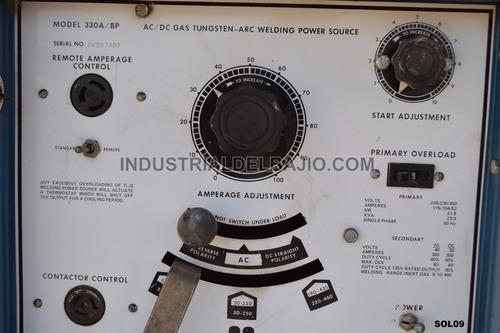 soldadora miller 330 lincoln infra akron surtek delta