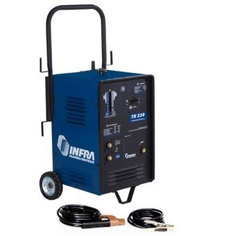 soldadora o maquina para soldar infra th 250 con cables