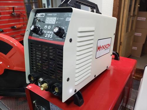 soldadora tig 295 con hf 220v