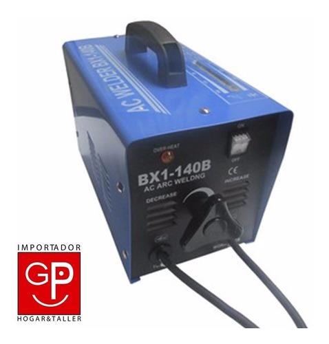 soldadora transformador 140 amp slender g p