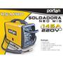 Soldadora Mig Portable 145amp Porten Funciona Sin Gas!!!