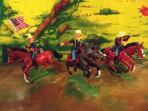 soldados cavalaria da união britains brinqtoys
