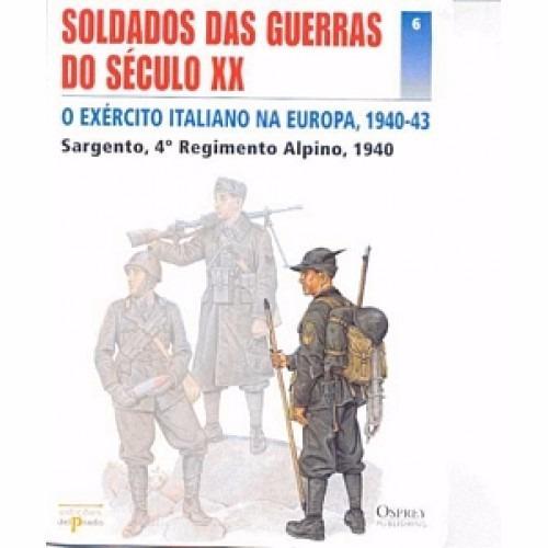Soldados Do Século Xx Sgto Regimento Alpino 7817eaa34707