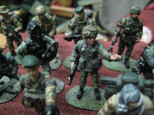 soldados fuerzas especiales del mundo - plomo 54 mm