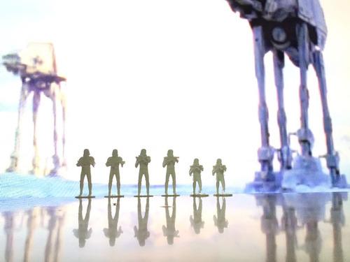 soldados imperiales stars wars + darth vader para diorama