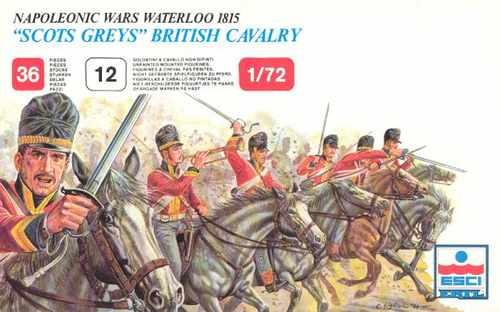 soldados napoleonicos british cavalry 1:72