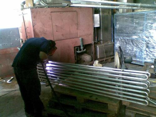 soldadura acero inoxidable fabricación y montaje
