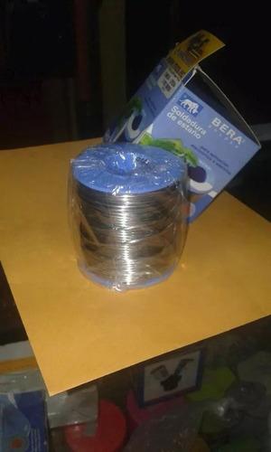soldadura de estaño marca bera solder.