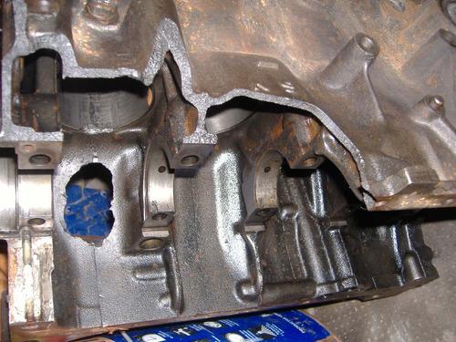 soldadura reparación de block aluminio y fundición.