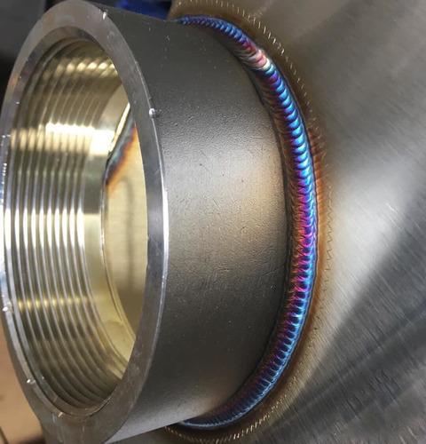soldadura tig en aluminio y acero inoxidable
