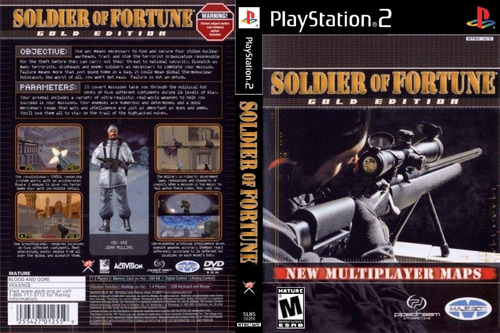 soldier of fortune * gold  edition / playstation 2 ps2