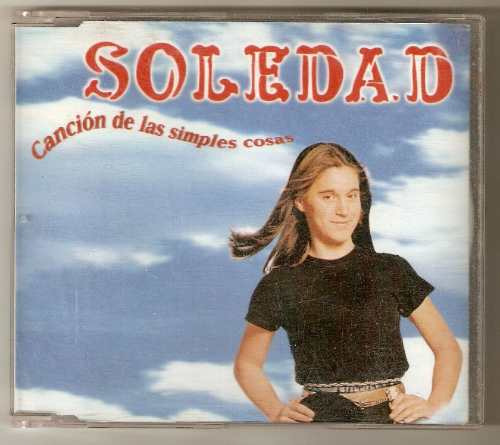 soledad single cd cancion de las simples cosas