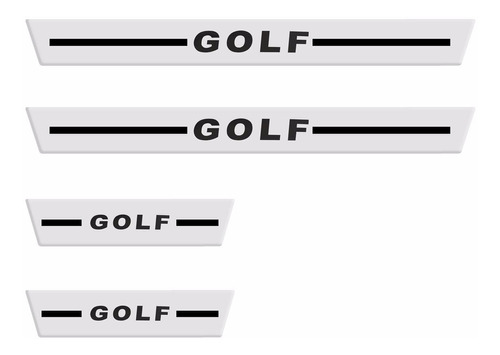 soleira golf 4 portas 2014 2015 cromado resinado