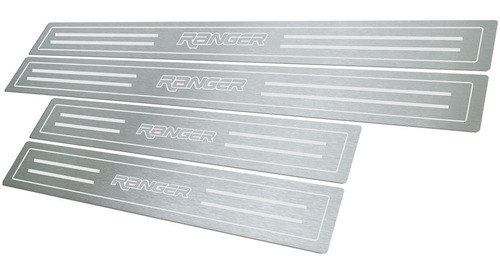 soleira ranger 4 portas 1998 até 2012 100% aço inox escovado